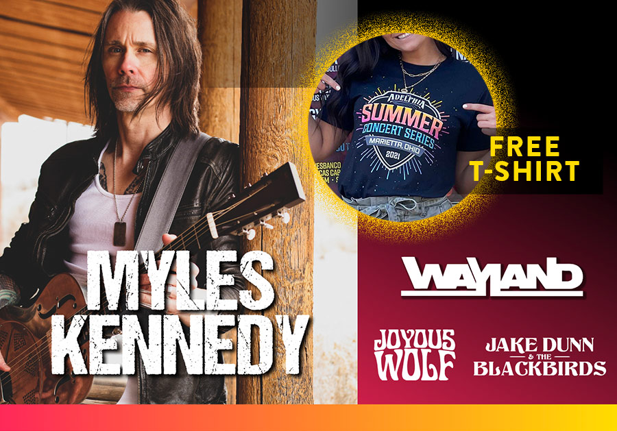 Myles Kennedy and Wayland