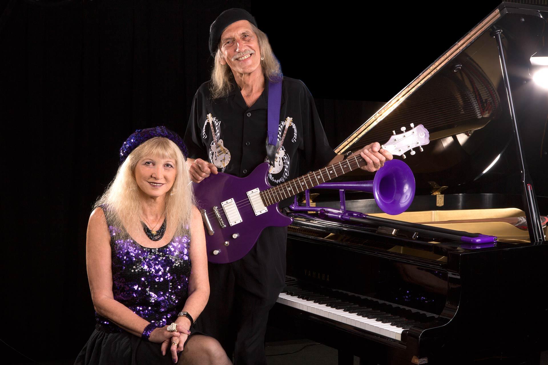 Liz Pennock & Dr. Blues